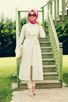 Hijab and abayas is modest Islamic clothing staple attire of women wardrobes either tradition of tre Hajib Fashion, Fashion Cover, Abaya Fashion, Modest Fashion, Hijab Wear, Hijab Dress, Hijab Outfit, Muslim Women Fashion, Islamic Fashion