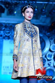 "JJ Valaya. I ♥ this kurta...and would wear it in a heartbeat! #5 of ""5 Pieces From India."""