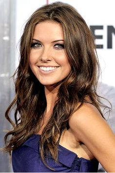 Very pretty...thinking I'm going to try this hair style/color :)