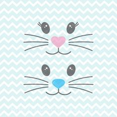 Bunny Crafts, Easter Crafts For Kids, Easter Ideas, Cute Easter Bunny, Bunny Bunny, Bunnies, Face Template, Bunny Bags, Easter Printables