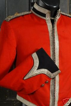 1861 stable jacket of the Fife and Forfar Imperial Yeomanry