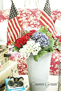 Common Ground: Vintage Inspiration  Patriotic Party