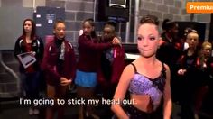 Dance Moms Abby Goes Backstage
