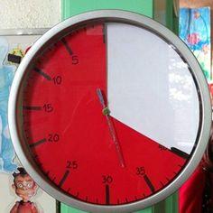 Un TIME TIMER original et à faire soi-même !!! - [Adaptation scolaire - Scolarisation des élèves Handicapés HAUT-RHIN 68]