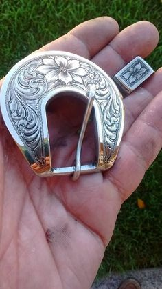 Cowboy Engraving - BUCKLESHEADSTALL BUCKLES..BELT BUCKLESSPUR LEATHER BUCKLESHAT BAND BUCKLES