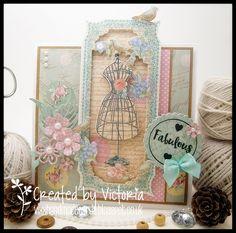 Vixx Handmade Cards: TRIMCRAFT DT POST ~ FABULOUS...!! Dt Post, Craftwork Cards, Vixx, Junk Journal, I Card, Handmade Cards, Cardmaking, Sew, Couture