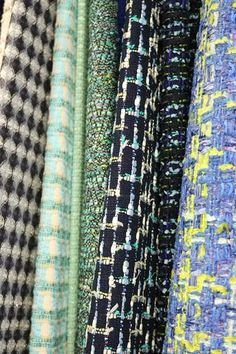 All you need to know about buying Linton Tweed, the cloth used for Chanel's iconic jackets. A new blog by sewing teacher Jenni Smith.