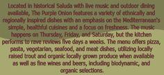 The Purple Onion, Saluda, NC