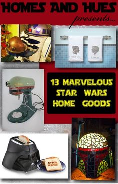 13 More Marvelous Star Wars Home Goods - Homes and Hues