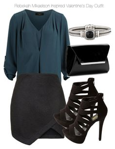 """""""Rebekah Mikaelson Inspired Valentine's Day Outfit"""" by staystronng ❤ liked on Polyvore"""