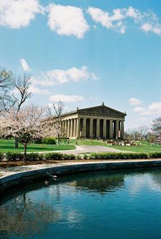 The Parthenon, Nashville, Tennessee #OneOfAKindNashville Never knew it was here until Joanie and Dino took us to see it.  They were just finished renovating the outside.  Beautiful.