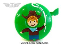 Cowboy (Dringdring) bicycle bell, accessory for Brompton
