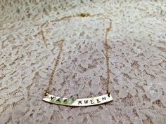 Yas Kween necklace inspired by Broad City!