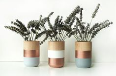 As the #copper décor trend continues, @stylecaster's @jasminegasnworthy shares how to implement the trend inside a home for a #modern and #minimalist look. Some of the products can be purchased from @westelm and @anthropologie.