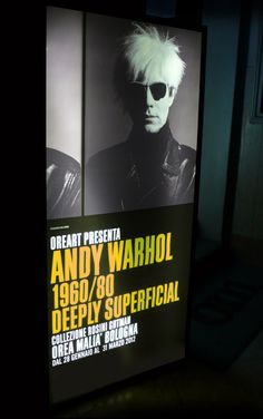 ANDY WARHOL  1960/1980 DEEPLY SUPERFICIAL