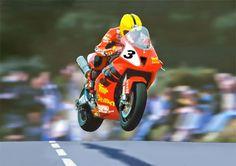 One of Joey Dunlop's race bikes would be the cherry of any dream bike…