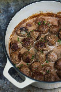 Swedish Meatballs by amandabythebay #Meatballs #Swedish