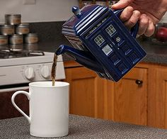 The real question is, can it hold more tea because it's bigger on the inside? ;)