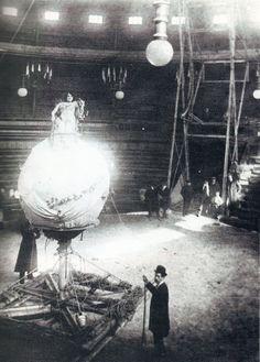1900. Ensayo de un número acrobático en el Circo Price