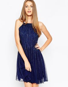 ASOS After Party Dome Strip Dress
