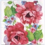 Decoupage Paper Napkins | Roses in Watercolor | Paper Napkins for Decoupage