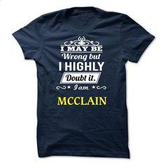 MCCLAIN - I may be Team - custom sweatshirts #geek tshirt #sweater jacket