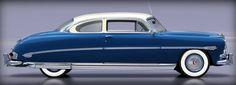 Hudson Hornet 1953 - source 40s & 50s American Cars.
