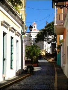 San Juan, Puerto Ricco. It really is this pretty.