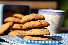 » Havrekjeks med sjokoladebiter Cookies, Baking, Desserts, Recipes, Food, Walkway, Crack Crackers, Tailgate Desserts, Sidewalk