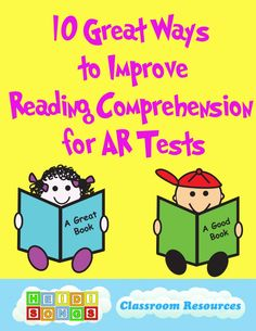 Ten Great Ways to Improve Reading Comprehension