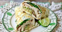 Easy low carb sandwich wraps recipe plus how to make these luscious California Club wraps! SO GOOD! Just 1 net carb. From Lowcarb-ology.com