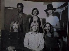 Original Six posing with smiles in 1969