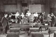Children Testing Corn at Mount Prospect High School Abc School, Grammar School, Public School, High School, Mount Prospect, School Fees, Rich Family, Poor Children, Historical Society