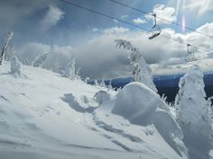 Big White Ski Resort - Canada by Aziza Azul, via Flickr