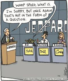 Yoda loses