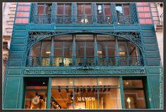 Antiguo edificio de la marca Singer en NY