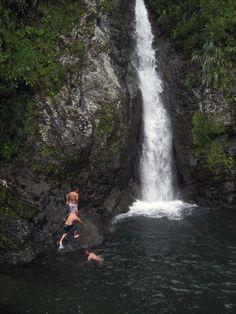 Salto Doña Juana, Orocovis, Puerto Rico / Waterfall and swimming hole