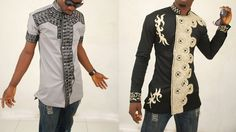 Yawmie Sticthes - modern style slim fit African kaftans! Ideass!