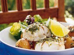 Örtbakad fisk och potatis - Allt om Mat