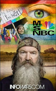 DUCK DYNASTY'S PHIL ROBERTSON SUSPENDED FOR EXERCISING HIS 1st AMENDMENT & SPEAKING BIBLICAL TRUTH!   http://www.infowars.com/national-boycott-launched-against-duck-dynasty-censorship/