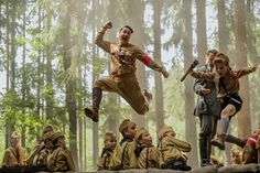 Writer-director Taika Waititi stars as an imaginary Hitler in Jojo Rabbit, which is filled with engaging characters but lacking in sharp satire. Satire, Scarlett Johansson, Best Movies Of 2019, Good Movies, 2020 Movies, Cult Movies, Popular Movies, Greatest Movies, Imdb Movies