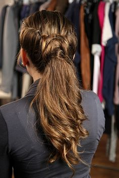 Quick Hair Updo: Alternative to a Braid from StyleCaster
