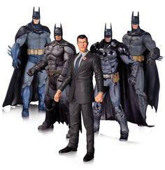 Batman Arkham Action Figure 5-Pack 17 cm ( DC Collectibles )