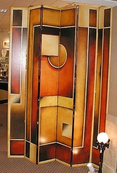 Art Deco six-panel folding screen beverlyclaire  http://media-cache5.pinterest.com/upload/200832464602659144_L7k2Lc0p_f.jpg
