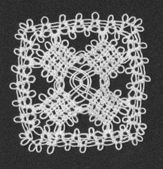 split ring ground, half ring braid square motif by Mark, aka Tatman:  http://www.tat-man.net