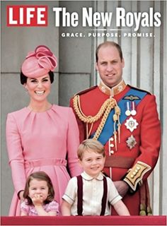 amazon: Life: The New Royals with the Cambridge family on the cover-on sale September 15, 2017