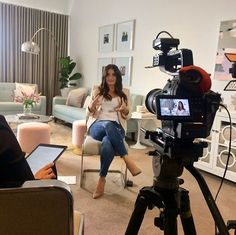 Behind the scenes of yesterday's Chats & Champers interview between our Group Editor @StyleTracy and Brisbane designer @JuliGrbac! Video by @SurgeMedia  Juli talks fashion business highs and lows and shows us her @GraceonMercer capsule collection. Keep an eye out for the interview on our Facebook page coming soon! #behindthescenes #bts #interview #graceonmercer #australianfashionlabel #fashiondesigner  via FASHION TRENDS on INSTAGRAM -Celebrity  Fashion  Haute Couture  Advertising  Culture…