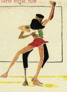 La liberté des danseuses de rue, la salsa, la chaleur du bitume, le corps s'exprime