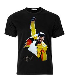 24e8531434422 Queen Freddie Mercury Signature Series Rock T-shirt Freddie Mercury De Queen
