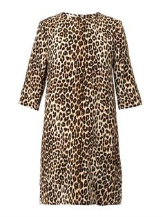 Equipment Leopard Print Silk Dress, $268 at Matches. Here's a little leopard dress in its simplest form: roomy, and in lightweight silk.